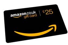 Карточка подарка Амазонки Стоковые Фотографии RF