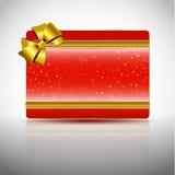 Карточка подарка Стоковая Фотография