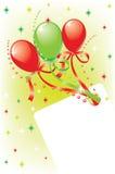 карточка праздничная Стоковое Изображение RF