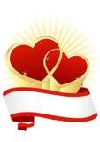 карточка 2007 приветствуя счастливое Новый Год Стоковые Изображения RF