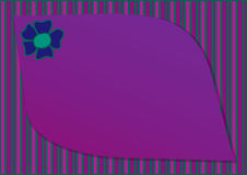 карточка 2007 приветствуя счастливое Новый Год Стоковое Изображение