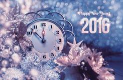карточка 2007 приветствуя счастливое Новый Год Стоковые Фотографии RF