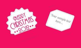 Карточка приглашения рождества Стоковая Фотография RF