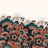 Карточка приглашения и объявления свадьбы с орнаментом в аравийском стиле Картина арабескы Восточный этнический орнамент Стоковое Фото