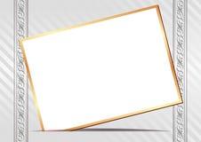 Карточка приглашения Стоковое Изображение RF