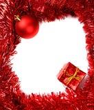 Карточка рамки рождества Стоковые Изображения RF