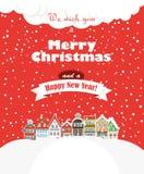Карточка рождества greating Стоковое Фото