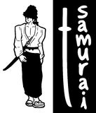 Карточка самураев Стоковое Изображение