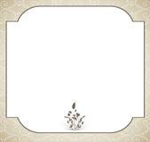 Карточка свадьбы стоковое фото