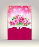 Карточка свадьбы Стоковые Изображения