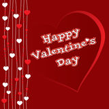 КАРТОЧКА сердца валентинки иллюстрация вектора