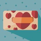 Карточка сердца Стоковое фото RF