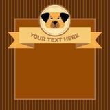 Карточка собаки бесплатная иллюстрация