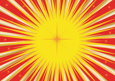 карточка солнечная Стоковое фото RF