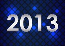 Карточка с новым годом иллюстрация штока