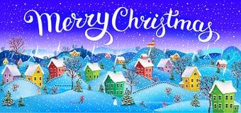 Карточка с Рождеством Христовым Стоковое фото RF