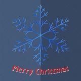 Карточка с Рождеством Христовым Стоковая Фотография