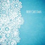 Карточка с Рождеством Христовым Стоковое Изображение