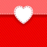 Карточка с сердцем Стоковые Изображения RF