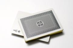 Карточка туза Стоковое фото RF