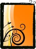 карточка флористическая Стоковое Изображение RF