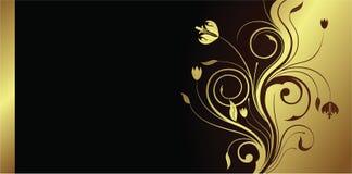 карточка флористическая Стоковые Фото
