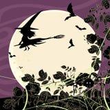 Карточка хеллоуина Стоковое Фото