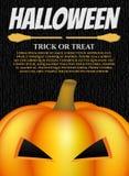 Карточка хеллоуина Стоковые Изображения RF