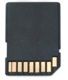 карточка цифровой sd обеспеченная Стоковая Фотография