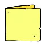 карточка шуточного шаржа пустая Стоковое Фото