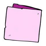 карточка шуточного шаржа пустая Стоковые Изображения RF