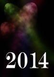 карточка 2014 Стоковая Фотография