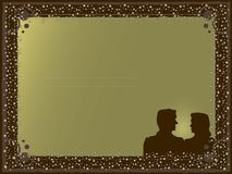 карточка Стоковая Фотография