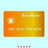 Карточка cit банка значок бесплатная иллюстрация