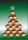 карточка claus santa Стоковое фото RF