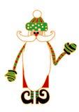 карточка claus santa Стоковое Фото