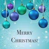 Карточка Crhistmas с рождественской елкой забавляется текст муравья иллюстрация штока