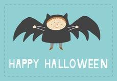 карточка halloween счастливый Стоковая Фотография