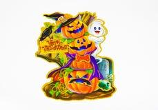 карточка halloween счастливый Стоковые Изображения RF