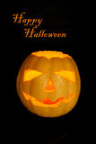карточка halloween счастливый Стоковое Фото