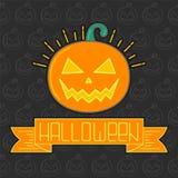 карточка halloween Стоковое Изображение RF