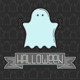 карточка halloween Стоковое фото RF