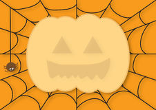 карточка halloween Стоковое Фото