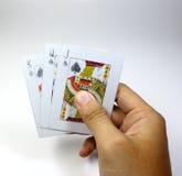 Карточка JQK Стоковое Изображение