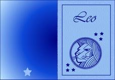 карточка leo Стоковая Фотография