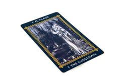 Карточка Tarot волшебник Палуба tarot Favole предпосылка эзотерическая Стоковые Фотографии RF