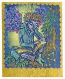 Карточка Tarot - изучение Стоковое Изображение RF