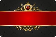 Карточка Vip Стоковое Изображение