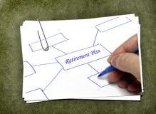 Карточки белой бумаги с Paperclip Стоковое Фото