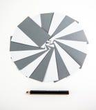 Карточки бумаг примечания Стоковые Изображения